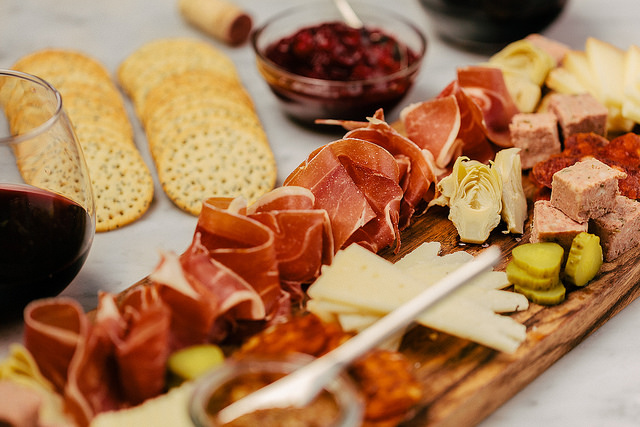 Cheese and Charcuterie Plate for Thanksgiving