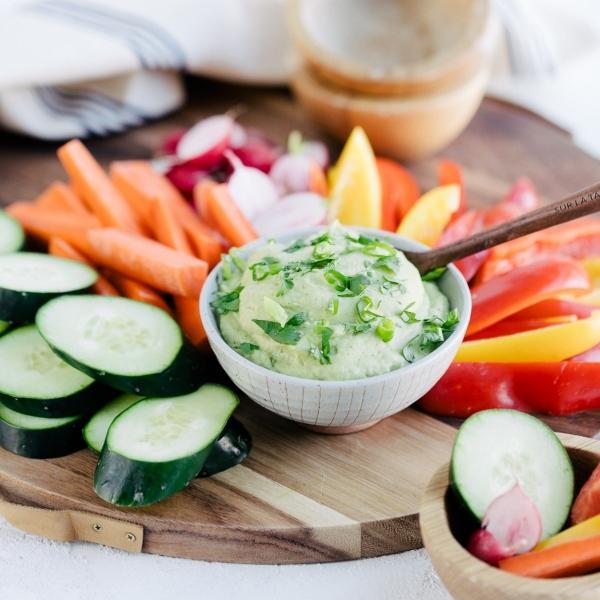 California Avocado & White Bean Dip