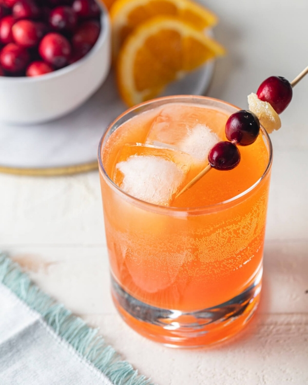 Cranberry-Spice Cocktail